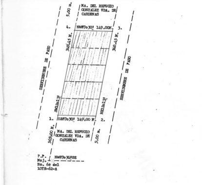 plano plazxuela de acuña 50,000.00 mts